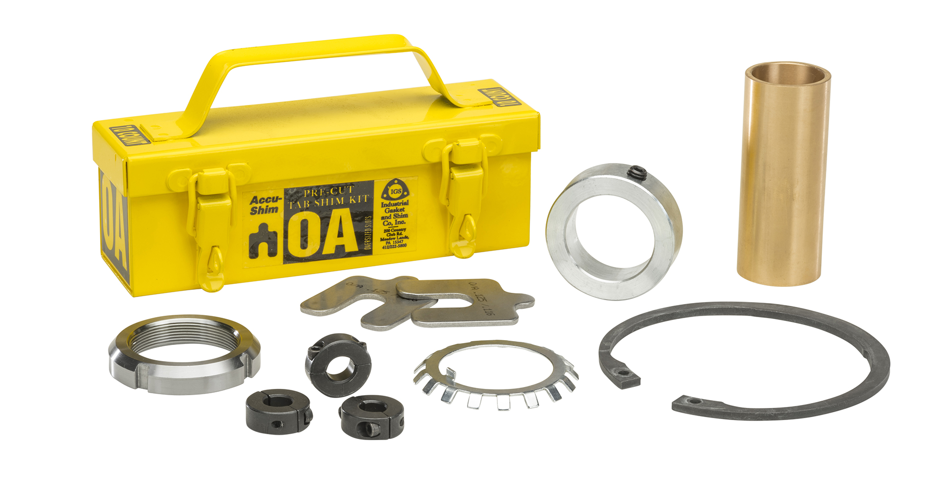 Bartlett Bearing Company Bearing Accessories and Hardware