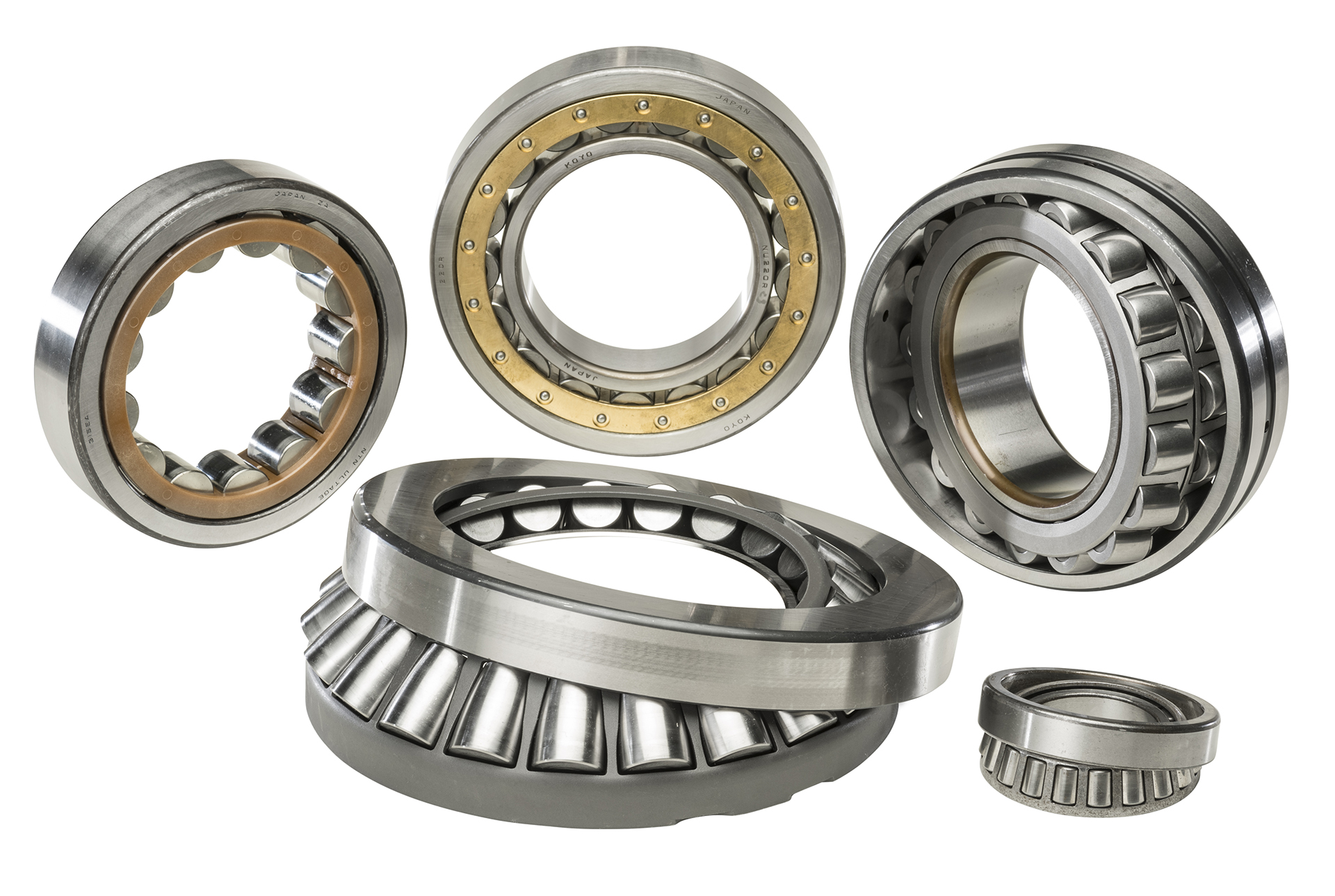 Bartlett Bearing Company Roller Bearings Products